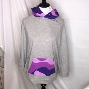 Pink Dolphin Poncho